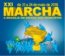 XXI Marcha a Brasília-DF em defesa dos Municípios.